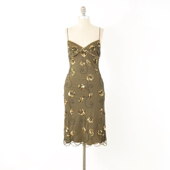 b16ea58e6e8f1 Betsey Johnson Dresses   Vtg Sequin Slip Dress   Poshmark